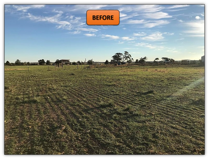 Bobcat Services Adelaide - New Horse Arena Leveling