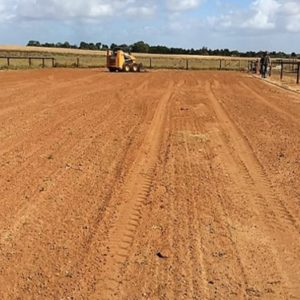 Bobcat Services Adelaide Arena Leveling