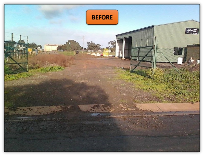 Shed Pad Levelling Bobcat Services Adelaide