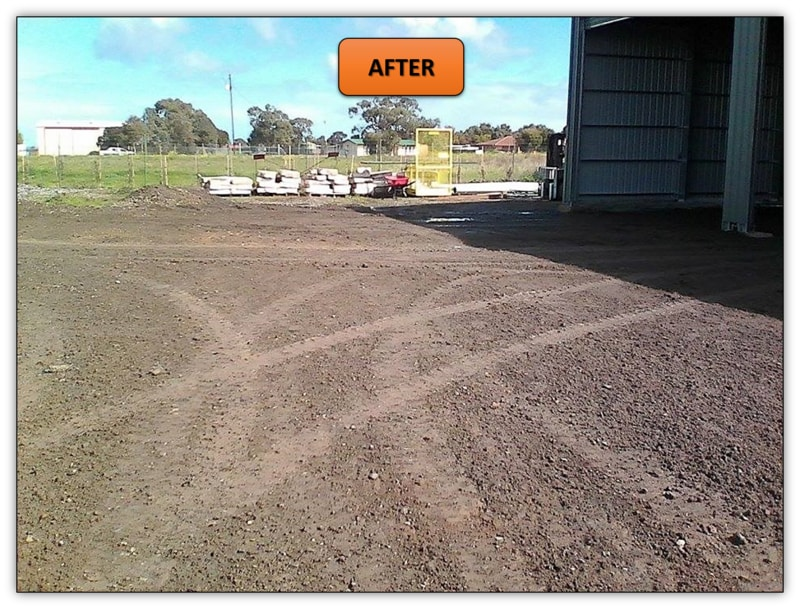 Shed Pad Leveling Roseworthy