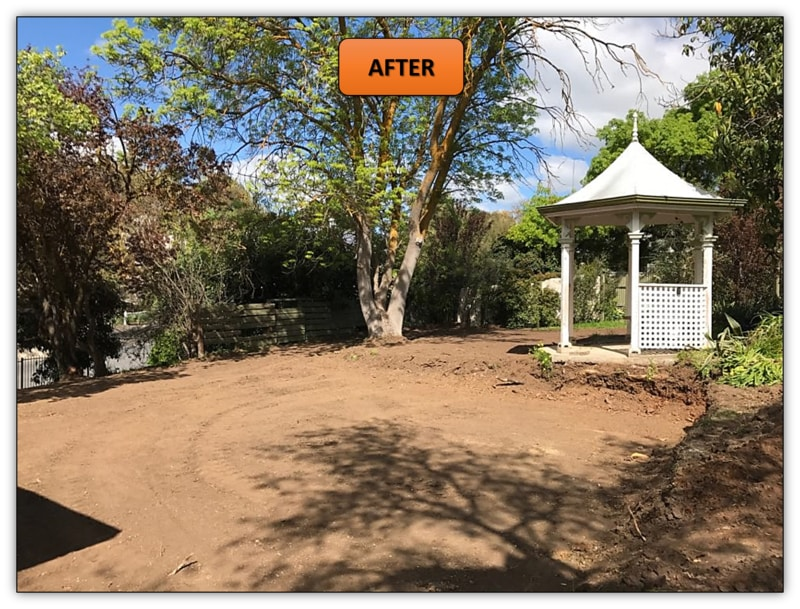 Retaining Walls Preparation - Bobcat Services Angaston