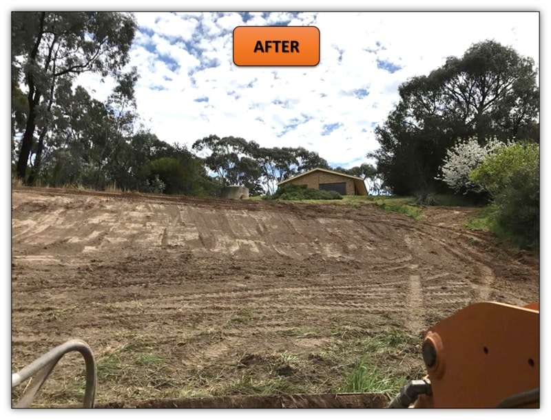 Dam Excavation - Bobcat Services Northern Adelaide