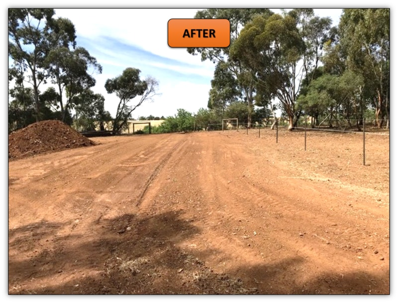 New Driveway Leveling - Earthmoving Services Adelaide