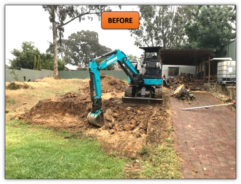 Excavation Services Adelaide Two Tier Retaining Wall