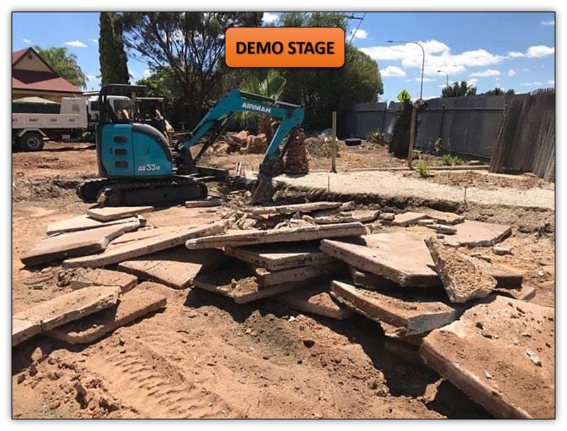 Subdivision Demolition & Leveling Willaston Earthmoving Services