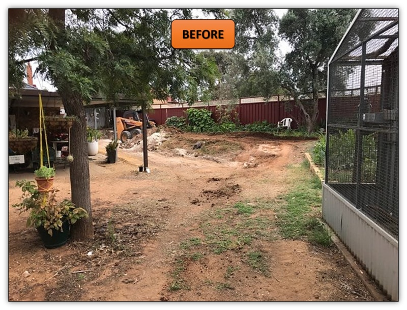 Retaining Wall Excavation - Bobcat Hire Adelaide