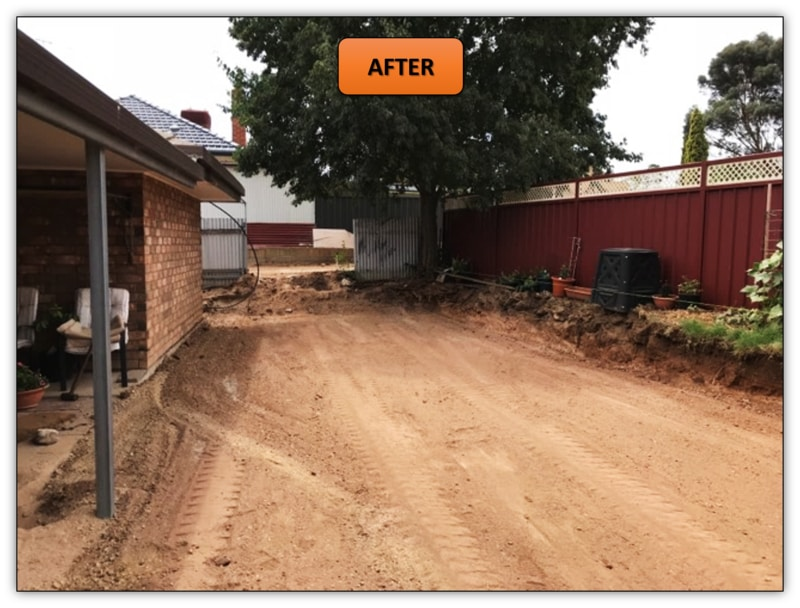 Retaining Wall Excavation Bobcat Services