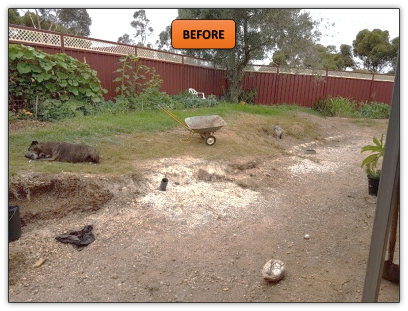 Retaining Wall Excavation - Hewett