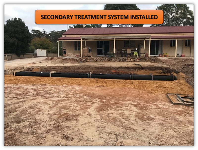 Advanced Enviro-Septic System Installation - Earthmoving Services Adelaide