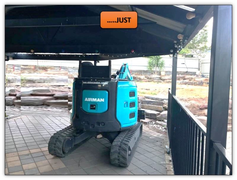 Backyard Landscaping Excavation Services - Hillbank
