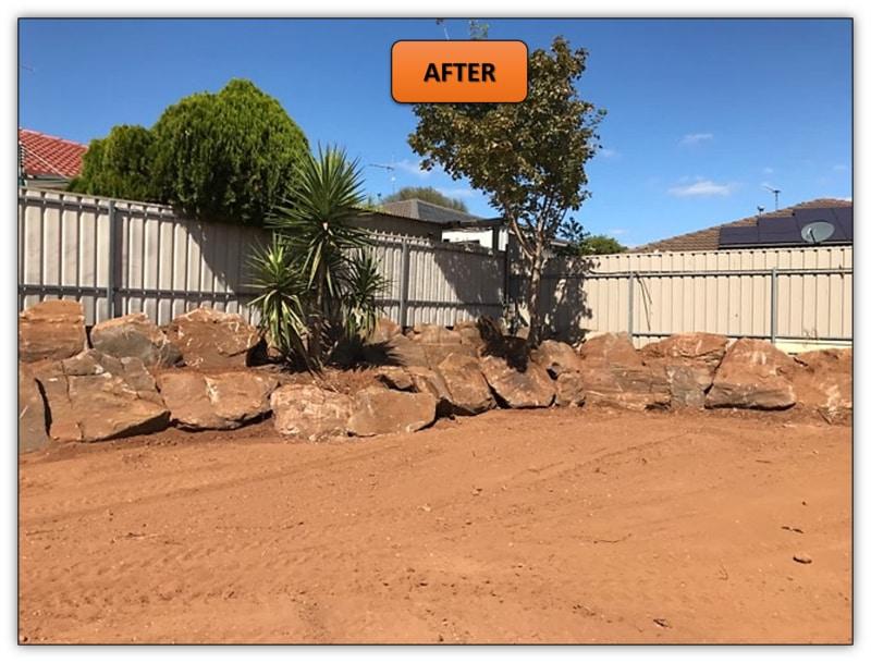 Backyard Retaining Wall Preparation Services - Hillbank Adelaide