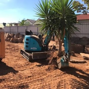 Backyard Retaining Wall Preparation Services - Northern Adelaide