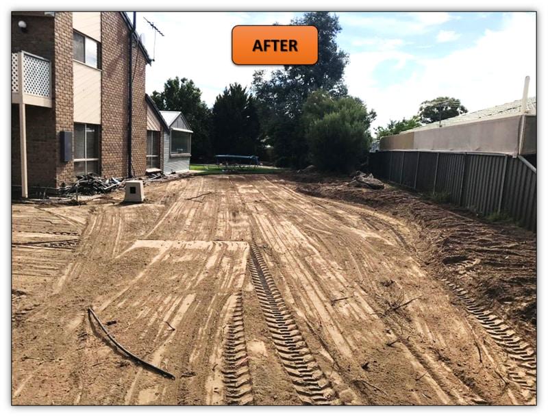 New Turf Preparation Excavation Tanunda - MIni Excavator Hire Adelaide- MIni Excavator Hire Adelaide