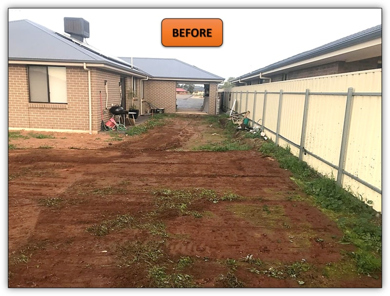 Backyard Leveling Excavation - Northern Adelaide
