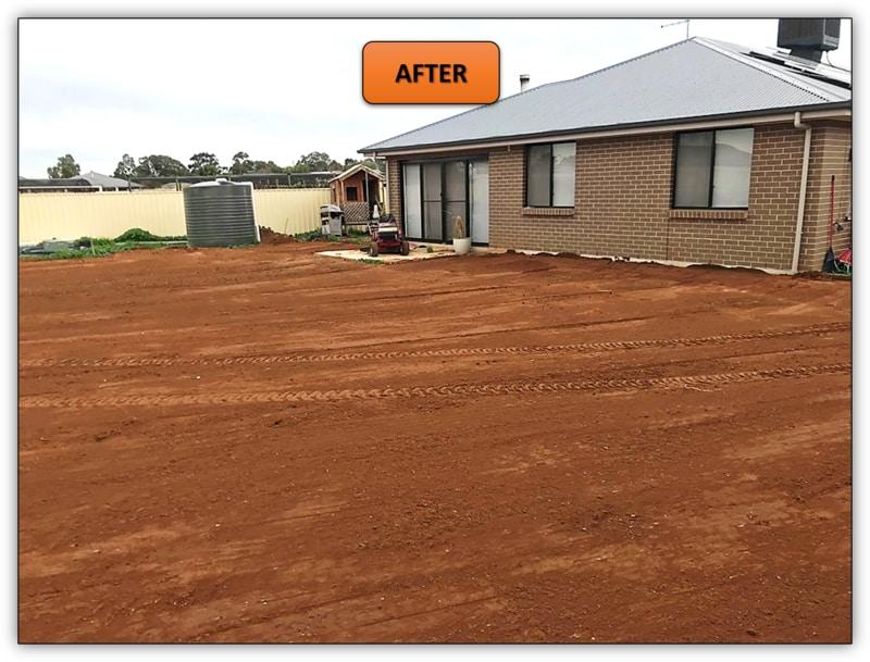 Backyard Leveling Earthmoving Service - Angle Vale
