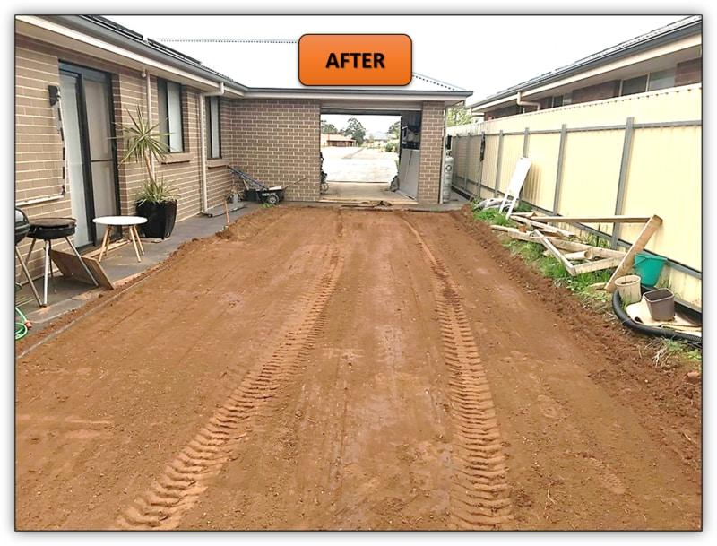Backyard Leveling Excavation Northern Adelaide