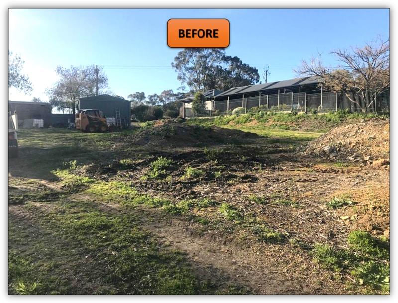 Backyard Leveling & New Driveway Williamstown
