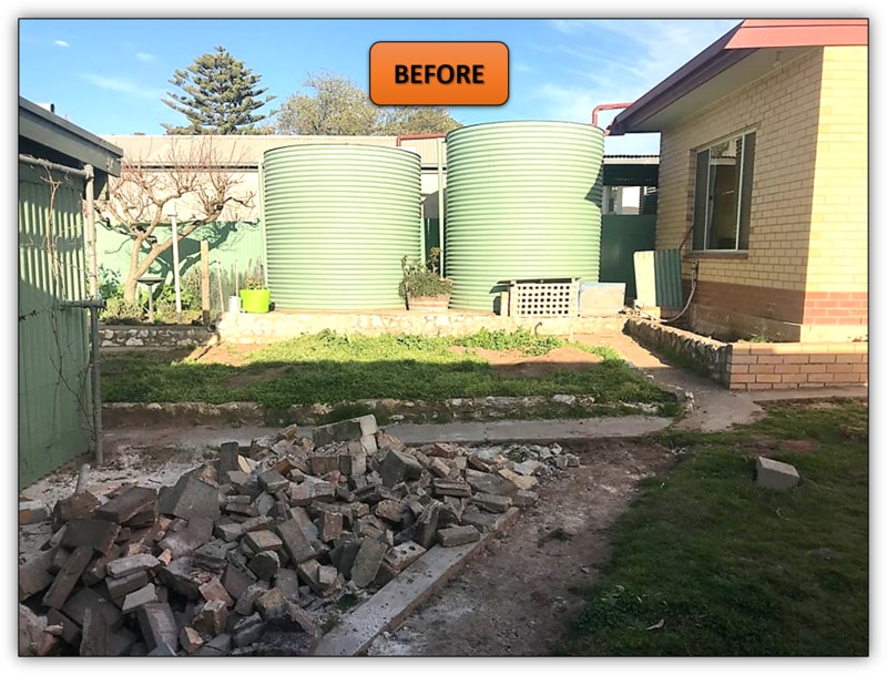 Backyard Patio Area Excavation - Barossa Valley