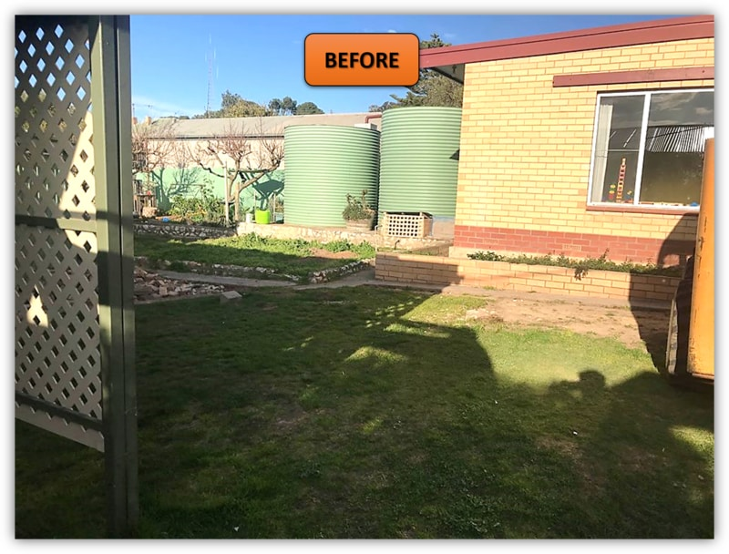 Backyard Patio Area Excavation Northern Adelaide
