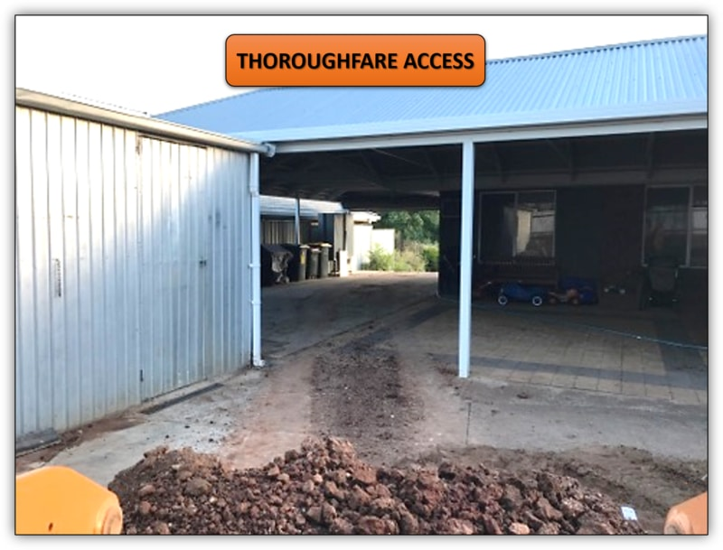 150T Backyard Dirt Removal Excavation Service Gawler