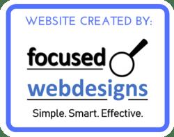 Website Created by Focused Web Designs Adelaide