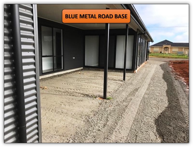 Concrete Preparation - Blue Metal Road Base