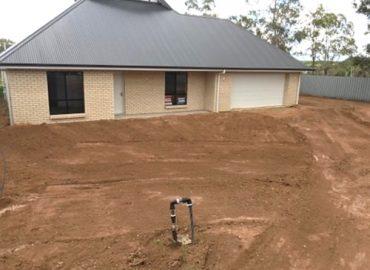 New House Yard Level