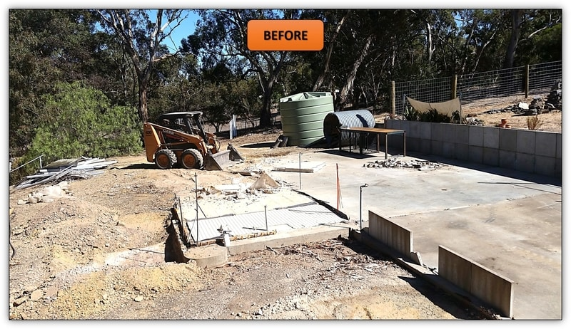 Shed And Tank Pad Preparation Williamstown